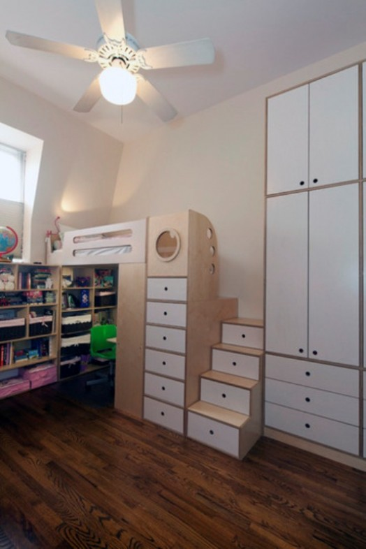 Space Saving Multifunctional Construction For A Small