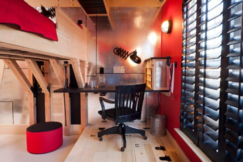 Unusual Boys Room Design In Secret Agent Style Kidsomania