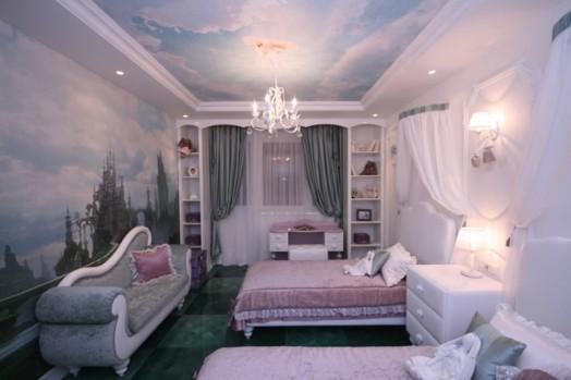 Amazing Kids Bedroom Design In The Style Of Alice In
