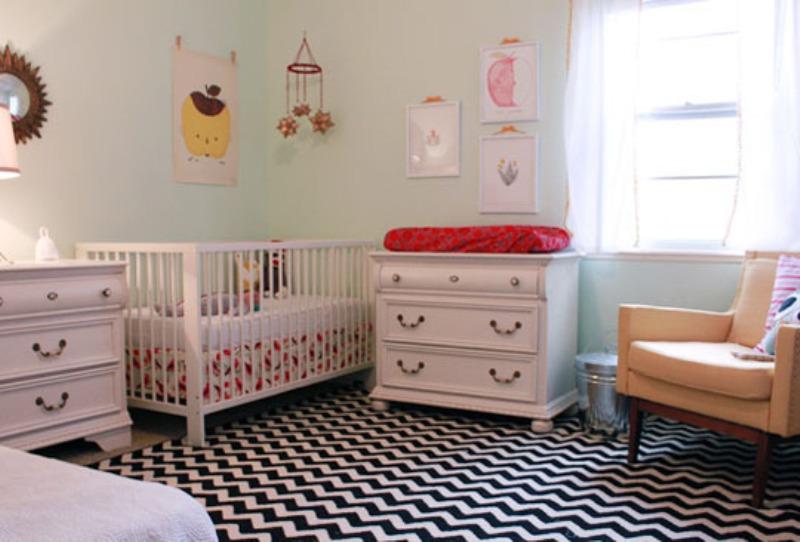 Boy Nursery Rug Black And White Rugs Ideas