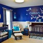 lovely powder blue and white nautical baby boy s nursery design