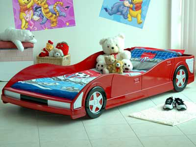 New Bellow you could find several cool boys beds which are made in shape of different cars such as race cars super hero us cars trucks and others