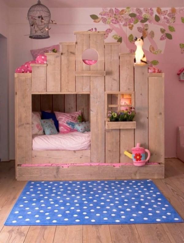 Girls Bunk Bed 600 x 791