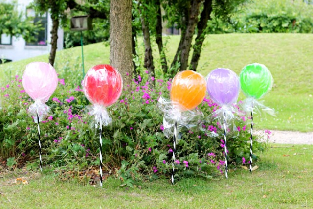 Colorful Diy Lollipop Balloons For A Kids Party Kidsomania
