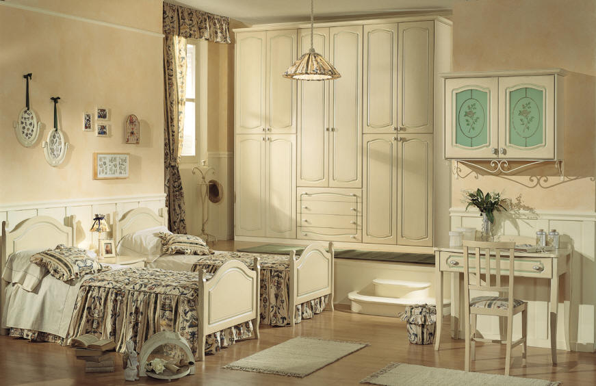 20 Comfy Kids Bedrooms Designs In Classic Style From Effedue Mobili