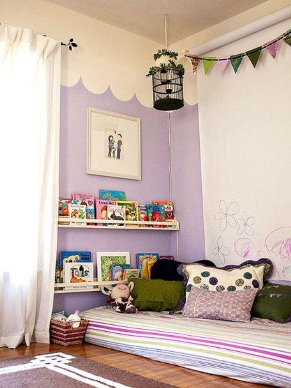 15 compact reading nook inspirations for kids kidsomania. Black Bedroom Furniture Sets. Home Design Ideas