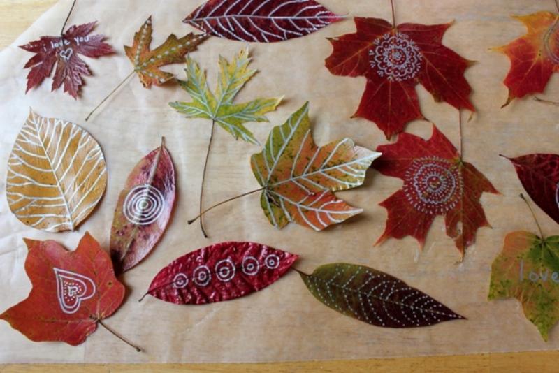 Cool Autumn Idea To Decorate A Kids Room Wall Kidsomania