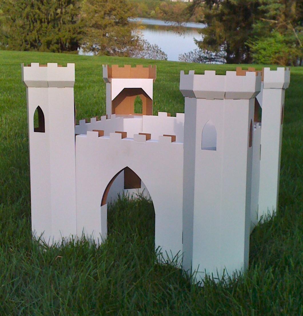 Cool Cardboard Playhouses By JoesToyBox Kidsomania