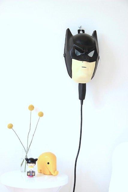 Cool Diy Wall Lamps : Cool DIY Batman Bedside Lamp For A Nursery Kidsomania