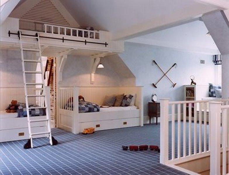design ideas attic rooms - 15 Cool Design Ideas For An Attic Kids Room