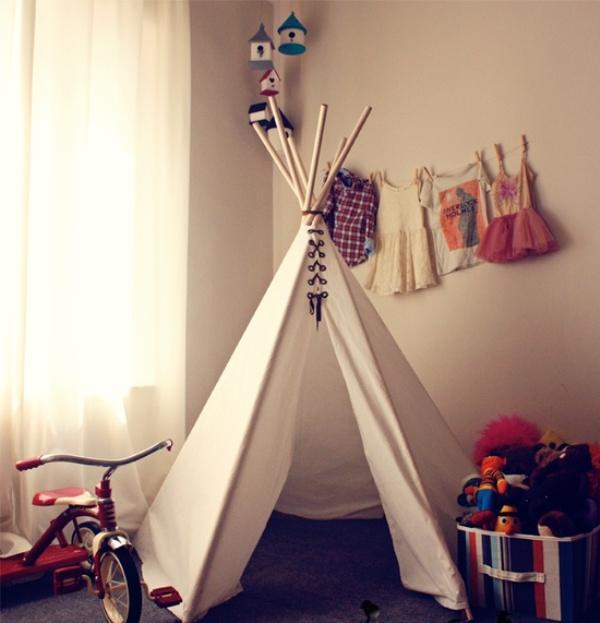 20 Cool Teepee Design Ideas For A Kids Room Kidsomania