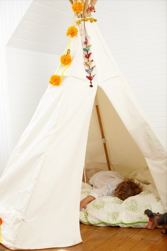 20 Cool Teepee Design Ideas For A Kids Room