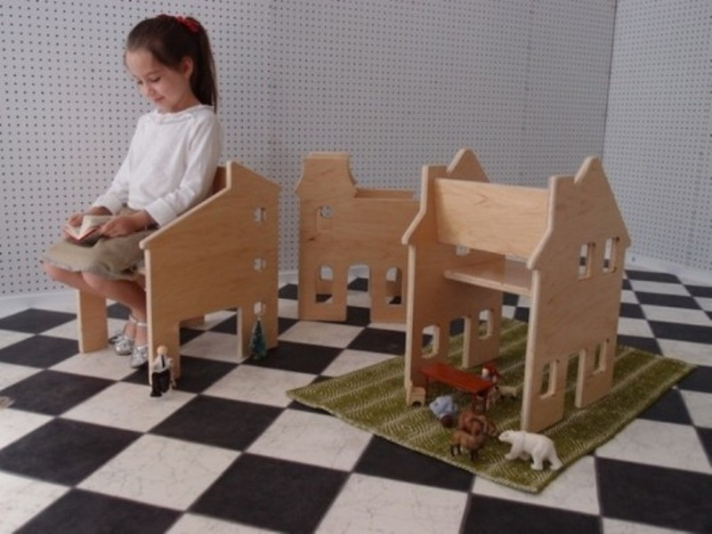 15 Cool House-Shaped Furniture Pieces For A Kids Room | Kidsomania
