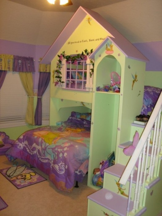 15 Cool House Shaped Furniture Pieces For A Kids Room