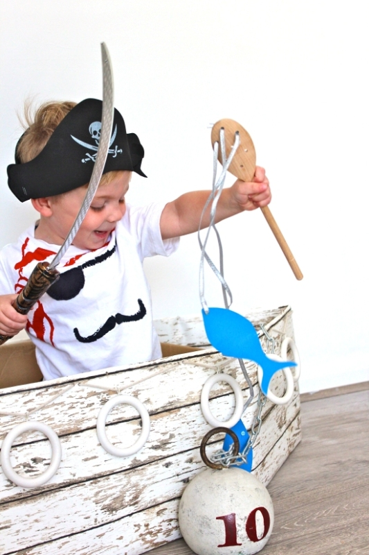 Cool Pirate Ship Playing Area For Your Kid's Room