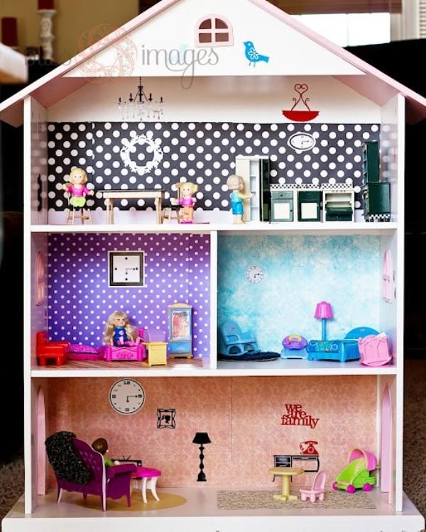 Diy girls room ideas memes - Adorable dollhouse bookshelves kids to decorate the room ...