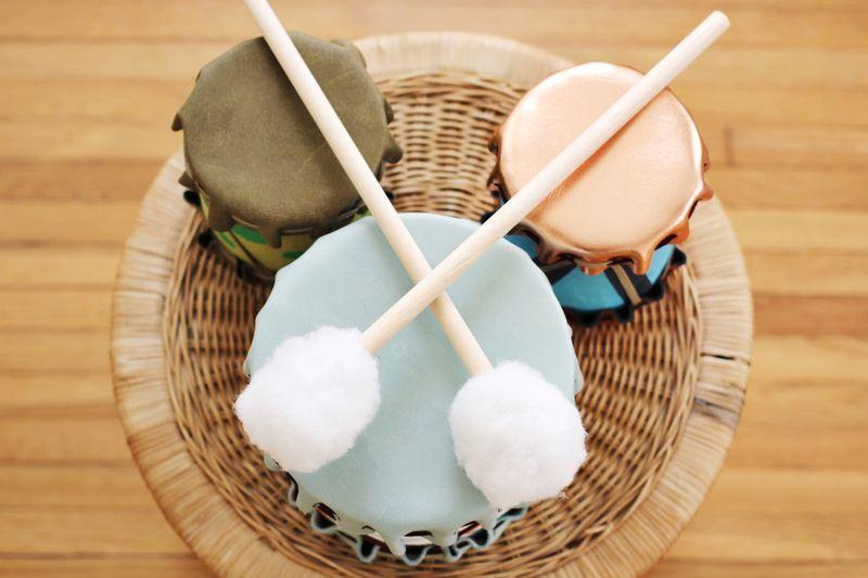 Adorable Diy Drums For Children Kidsomania