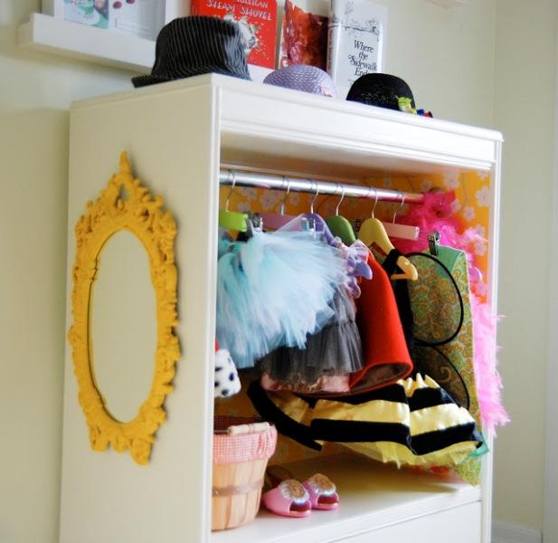 Diy Kids Wardrobe: Cute DIY Children's Closet