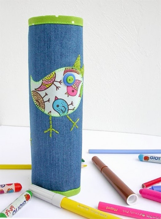 Diy Fabric Pencil Case For The New School Year Kidsomania