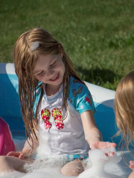 Diy Outdoor Bubble Bath For Kids Kidsomania