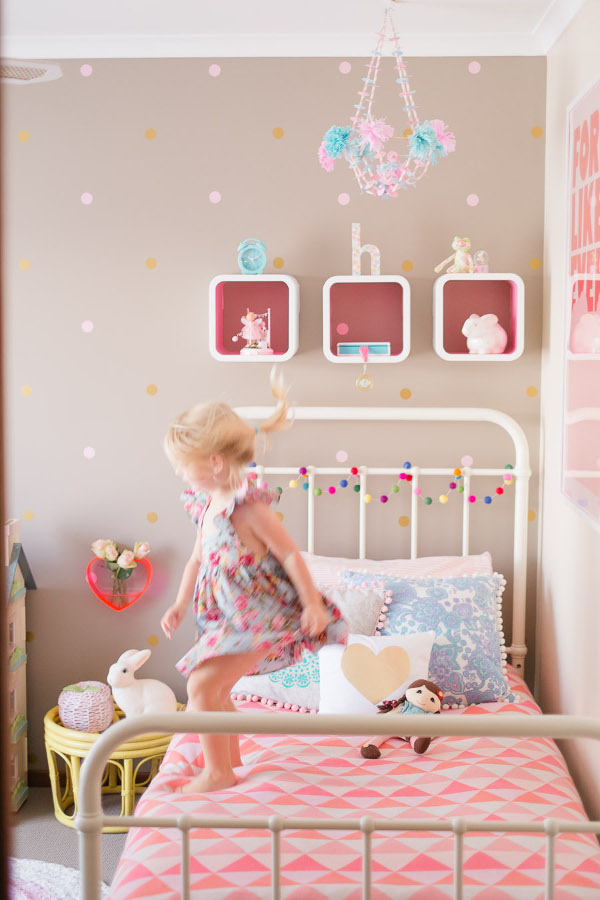 Decorar Habitacion Vintage ~ Pretty DIY Vintage Bedroom For Girls  Kidsomania