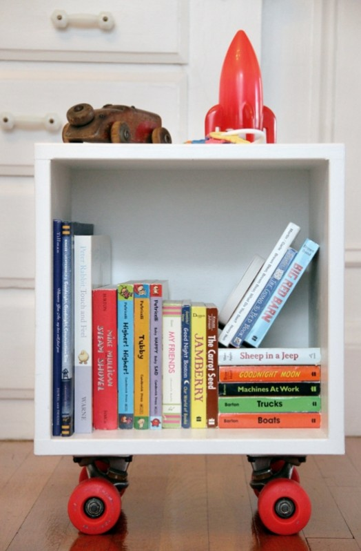 Diy Skateboard Cubby For Storage Of Children Things