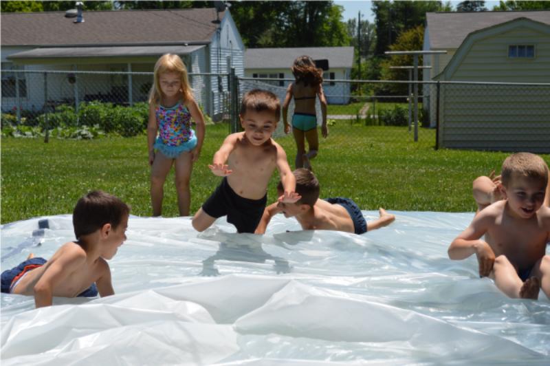 diy water blob for kids summer outdoor fun kidsomania