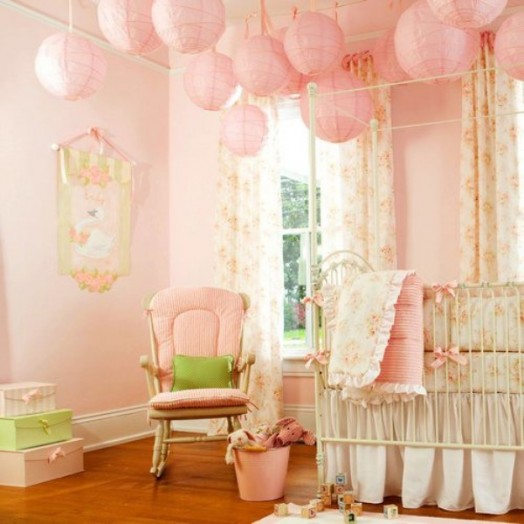 45 Amazing Decorating Ideas To Create A Stylish Nursery: 12 Ideas To Decorate A Nusery Room With Mobile Paper