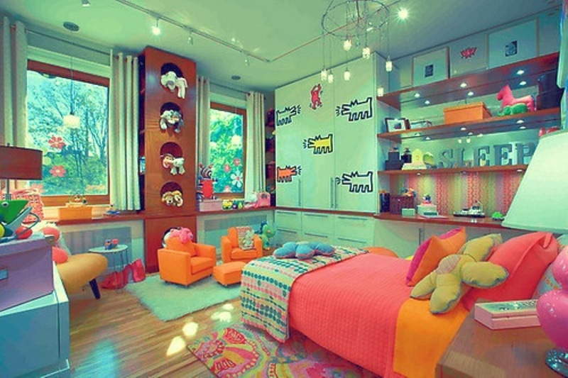 Colorful Kids Rooms: 15 Colorful Kids Room Designs