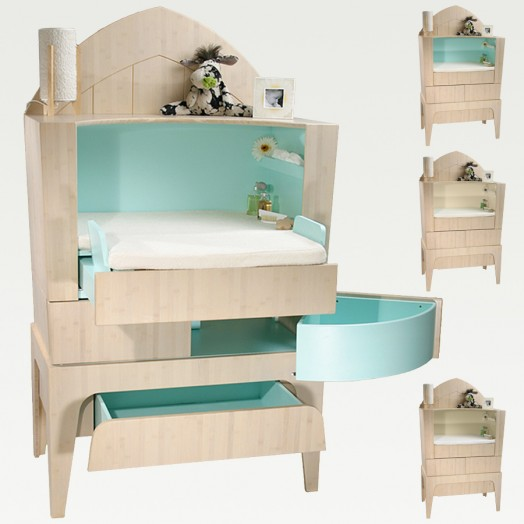 Eco Friendly Baby Furniture From Castor Chouca Kidsomania
