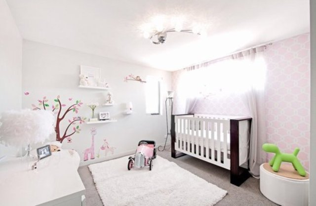 Also You Can Notice That It S A Very Light Room In Blush And White Shades With Small Inserts Of Green Look At These Pics Get Some Inspiration
