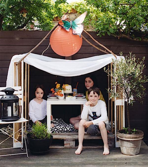 Apartment garden pallet: garden design: design with diy small ...