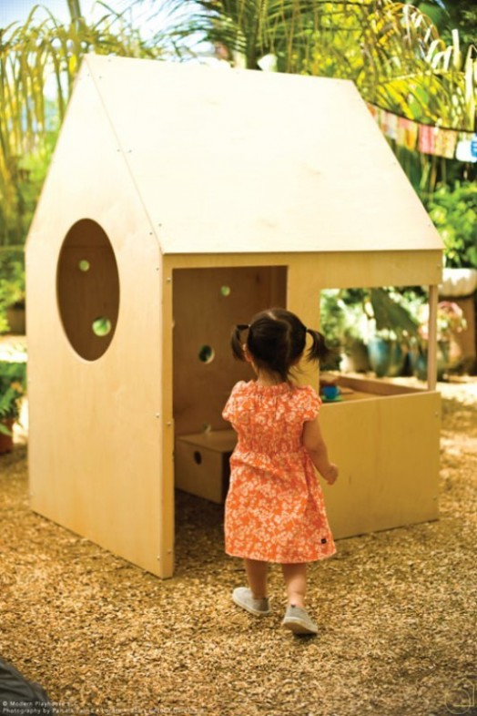 15 Super Awesome Kids Outdoor Playhouses Kidsomania