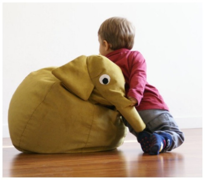 Funny Animal Bean Bags For Kids By Il Saccotto Kidsomania