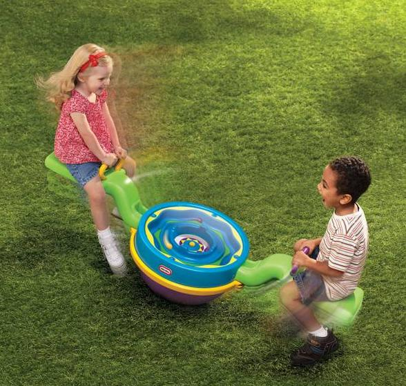 Outside Toys For Toddlers : Funny kids teeter totter for playroom and garden from