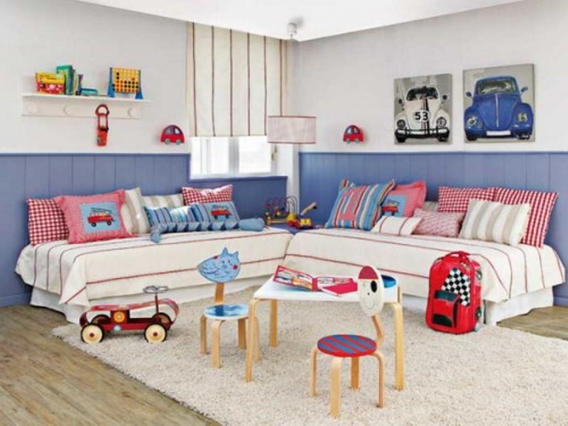 15 Headboard Design Ideas For A Shared Kids Bedroom ...