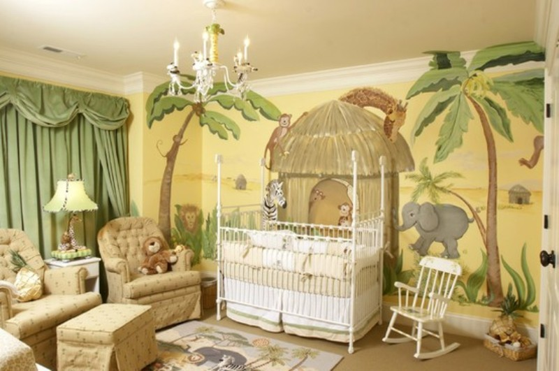 15 Ideas To Design A Jungle Themed Kids Room Kidsomania