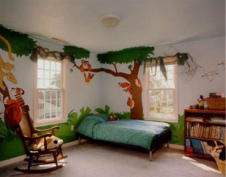 15 Ideas To Design A Jungle Themed Kids Room | Kidsomania