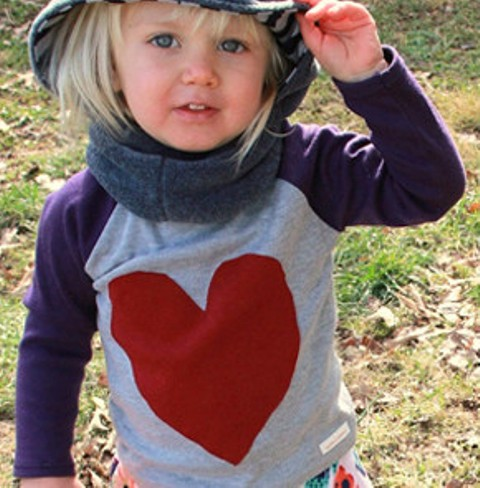 Valentine day gift idea i heart t shirts for your kids