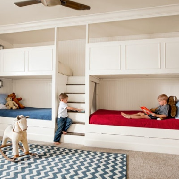 15 Kids Room Design Ideas For Four Kidsomania