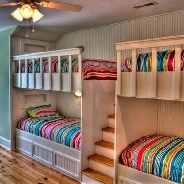 15 kids room design ideas for four kidsomania - Kids bedrooms photos ...