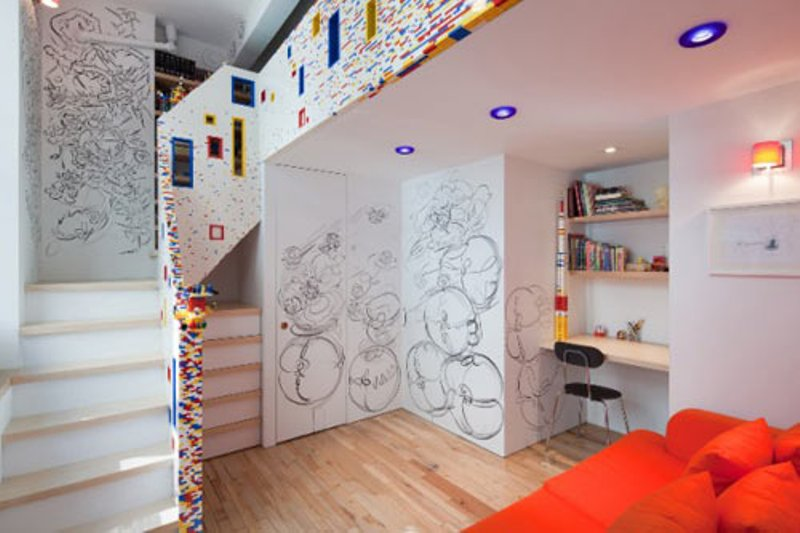 Kid S Room In Lego Style By I Beam Design