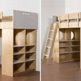 loft bed with desk and storage cabinets dumbo loft bed from casa kids bunk beds casa kids