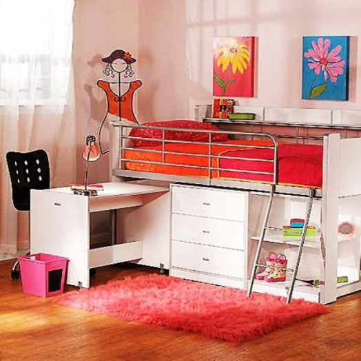 20 Loft Beds With Desks To Save Kid S Room Space Kidsomania