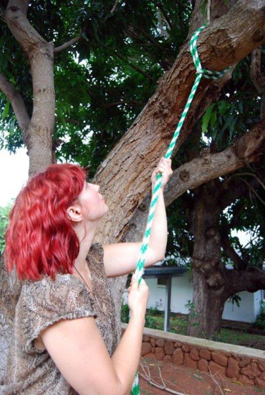 Diy Tree Swing For Two In The Backyard Kidsomania