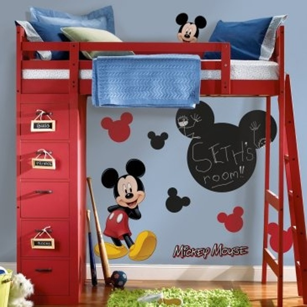 Commickey Mouse Kids Room : Mickey Mouse Themed Kids Room Designs And Furniture  Kidsomania