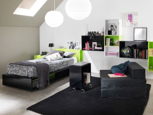 Stylish And Modern Design Of A Teen Room Kidsomania