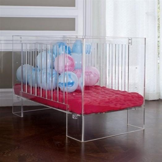 Modern See Through Baby Crib By Nurseryworks Kidsomania