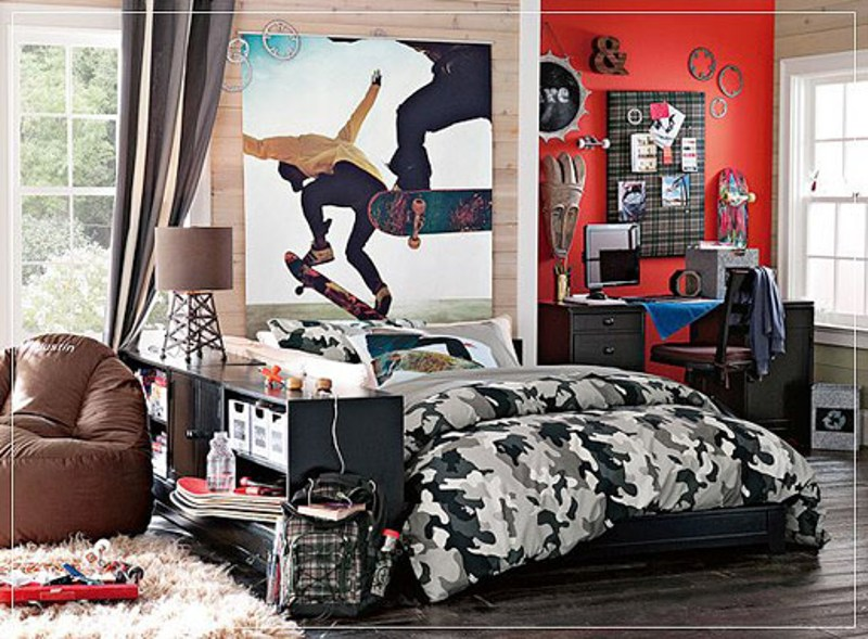 12 Modern Teen Bedroom Designs Based On Boy's Hobbies ... on Small Room:yi04Pfnkpjo= Teenage Bedroom Ideas  id=14900