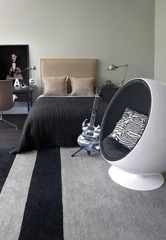 12 Modern Teen Bedroom Designs Based On Boy's Hobbies